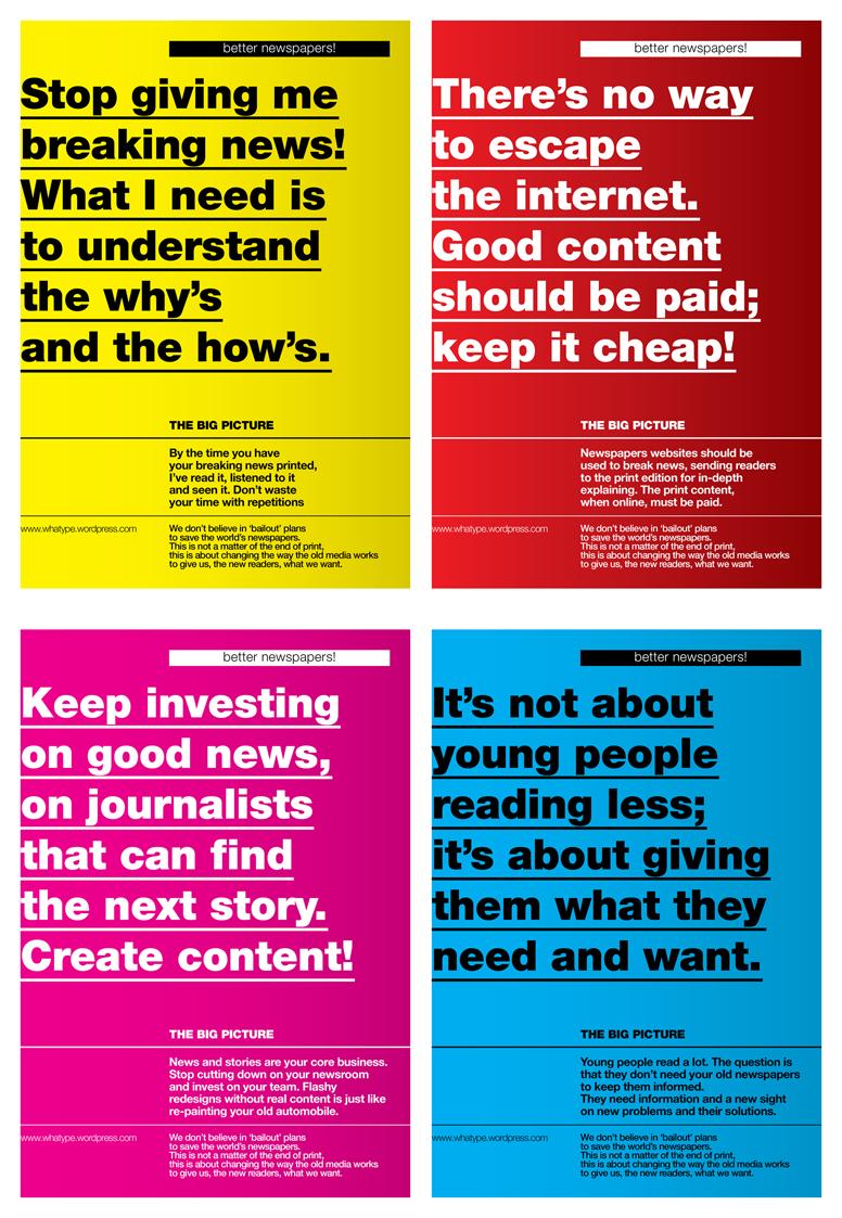 I quattro poster